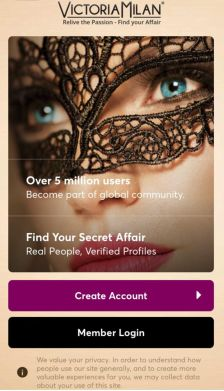 VictoriaMilan App